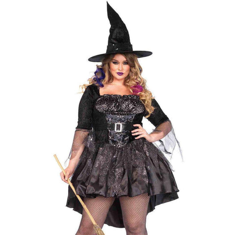 Black Magic Witch Plus Size Costume