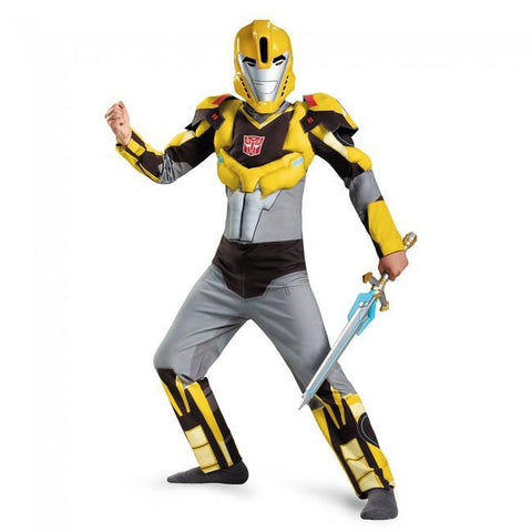 Transformers - Bumblebee Animated Classic Muscle Boy's Costume