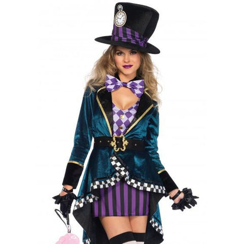 Delightful Mad Hatter Sexy Costume