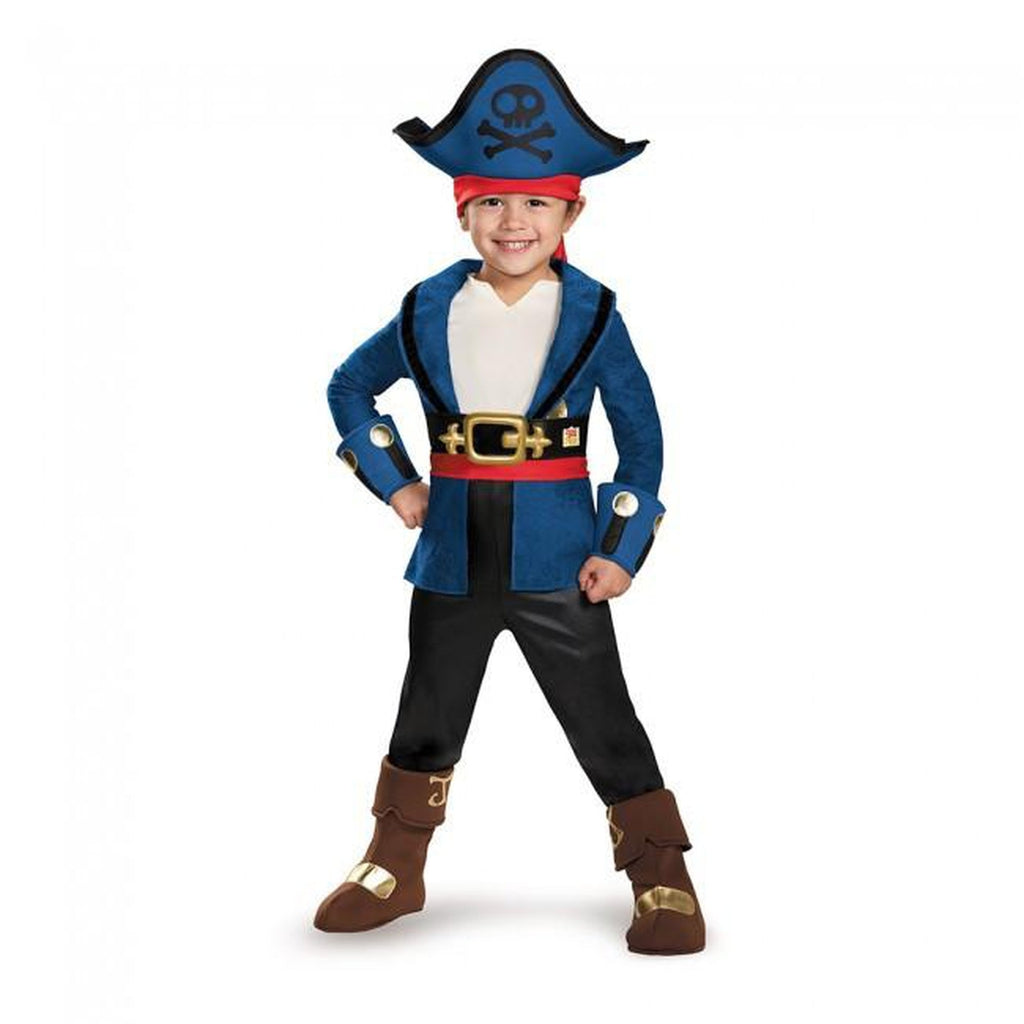 Captain Jake Deluxe Toddler Costume