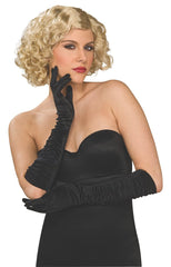 Black Elbow Gloves