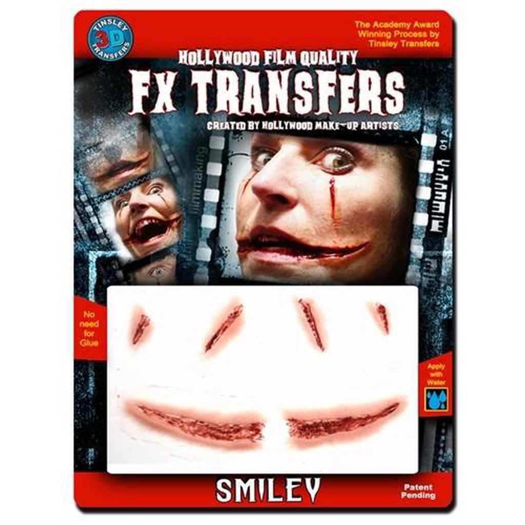 Smiley - 3D Special FX Skin Transfers