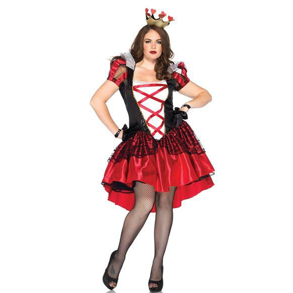 Royal Red Queen Plus Size Costume