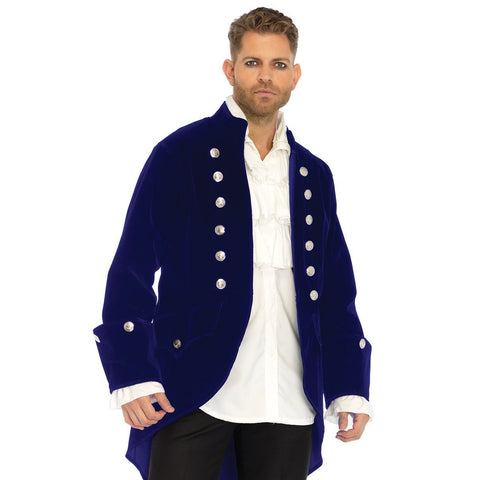 Velvet Regencey Jacket Men's Costume