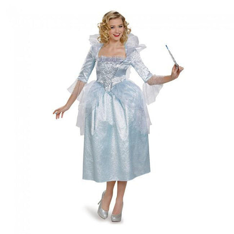 Cinderella - Fairy Godmother Movie Deluxe Women's Costume