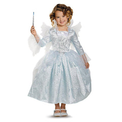 Cinderella - Fairy Godmother Movie Deluxe Girl's Costume