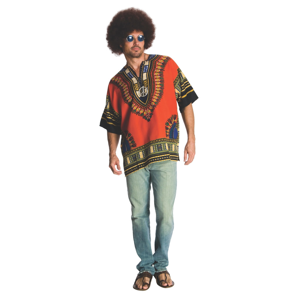 Dashiki Hippie Adult Men's Costume