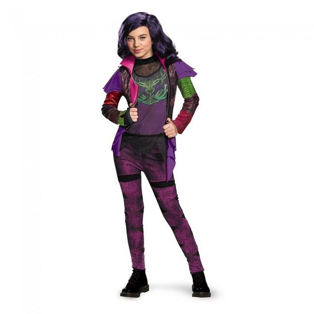 Descendants - Mal Isle Of The Lost Deluxe Girl's Costume