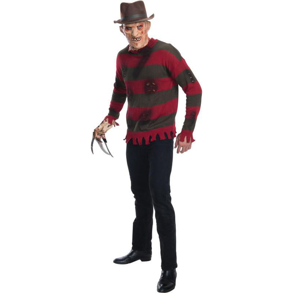 Freddy Krueger Deluxe Sweater Teen Costume