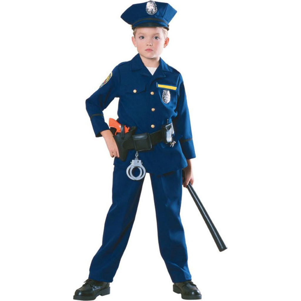 Police Officer Boy's Costume