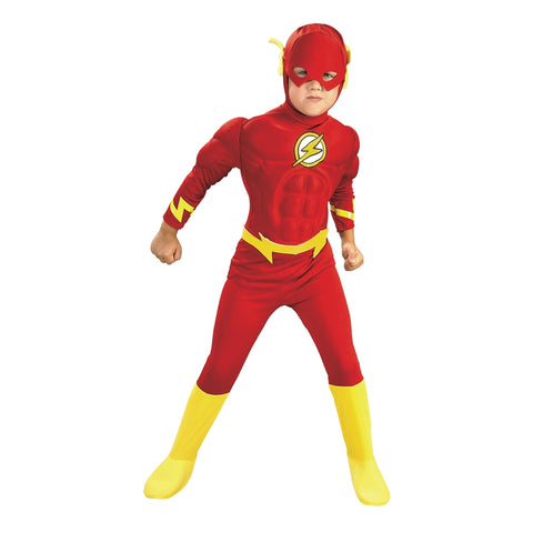 The Flash Deluxe Muscle Chest Toddler Costume