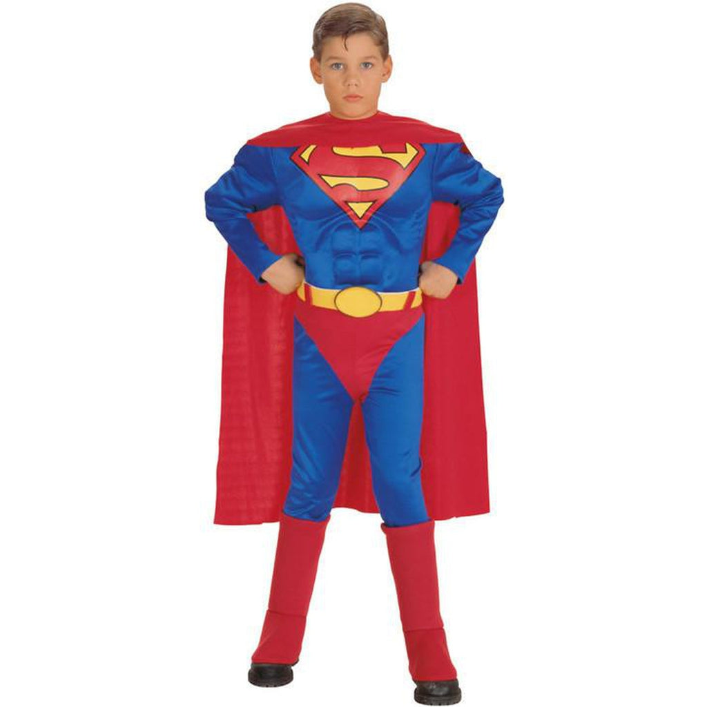 Superman Deluxe Muscle Chest Toddler Costume