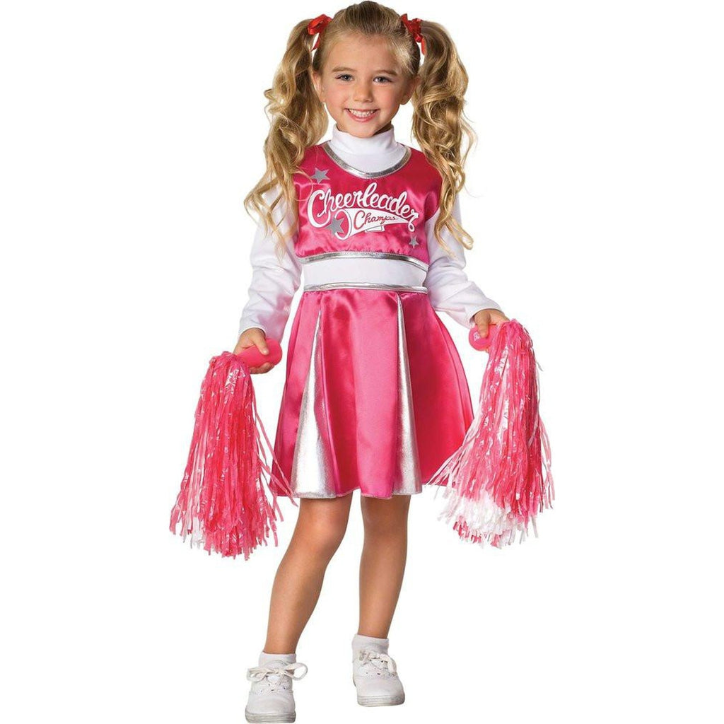 Cheerleader Girl's Costume