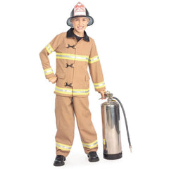 Fire Fighter Boy's Costume