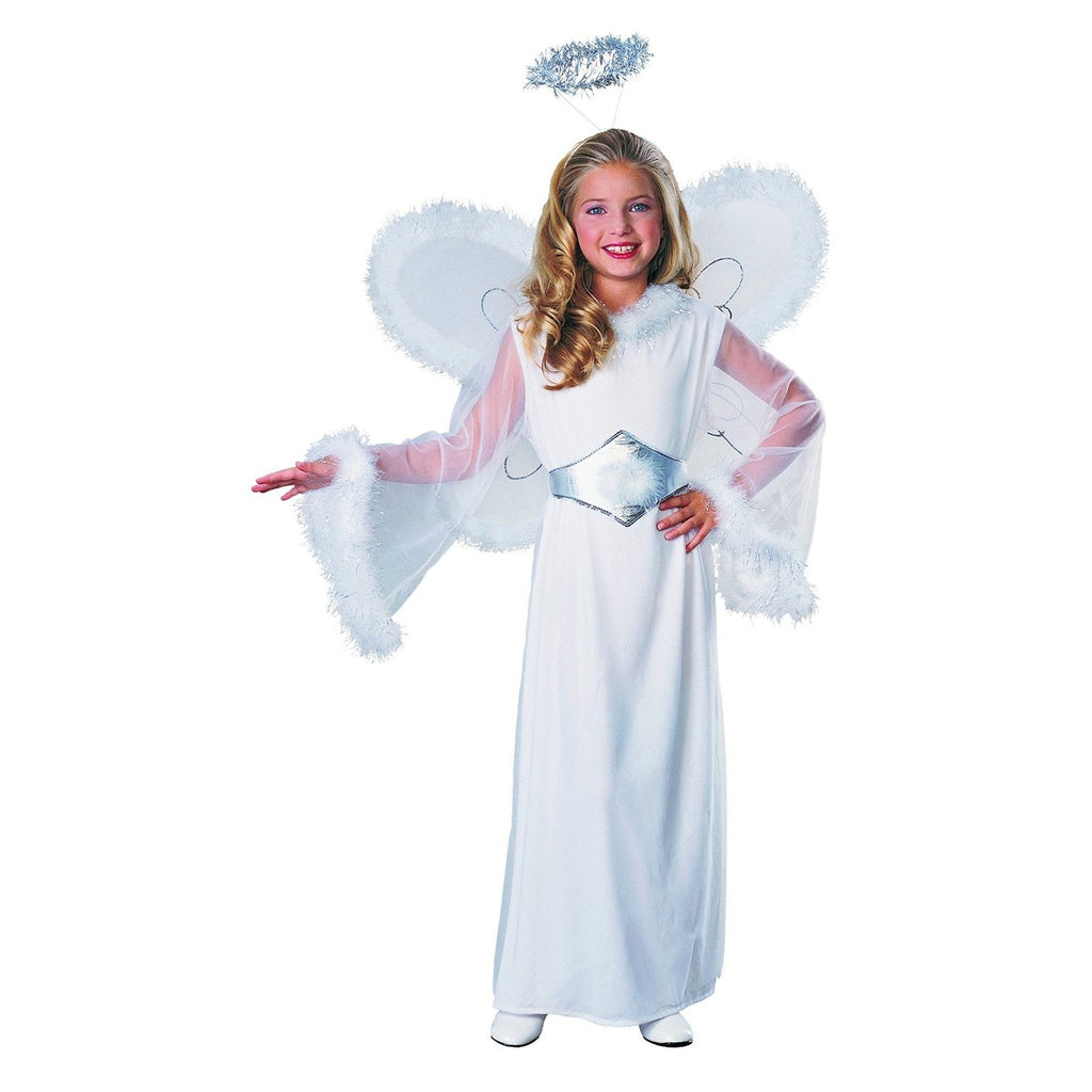 Feather Snow Angel Girl's Costume