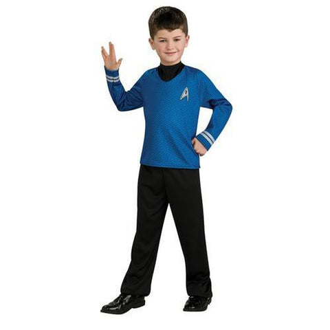 Star Trek Movie Spock Shirt Boy's Costume