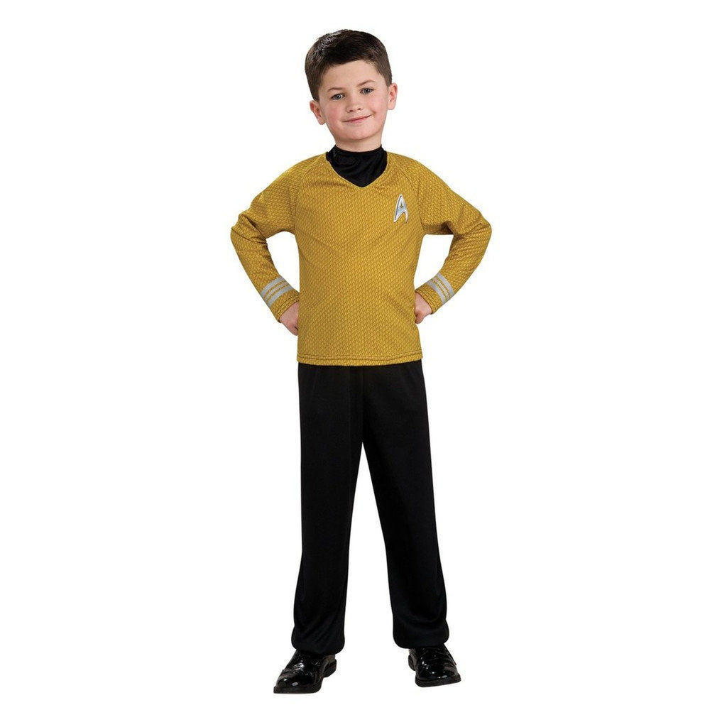Star Trek Movie Captain Kirk Shirt Boy's Costume