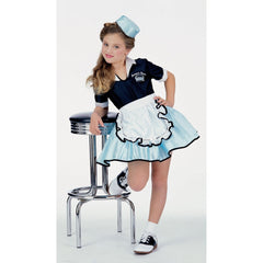 Car Hop Girl Girl's Costume