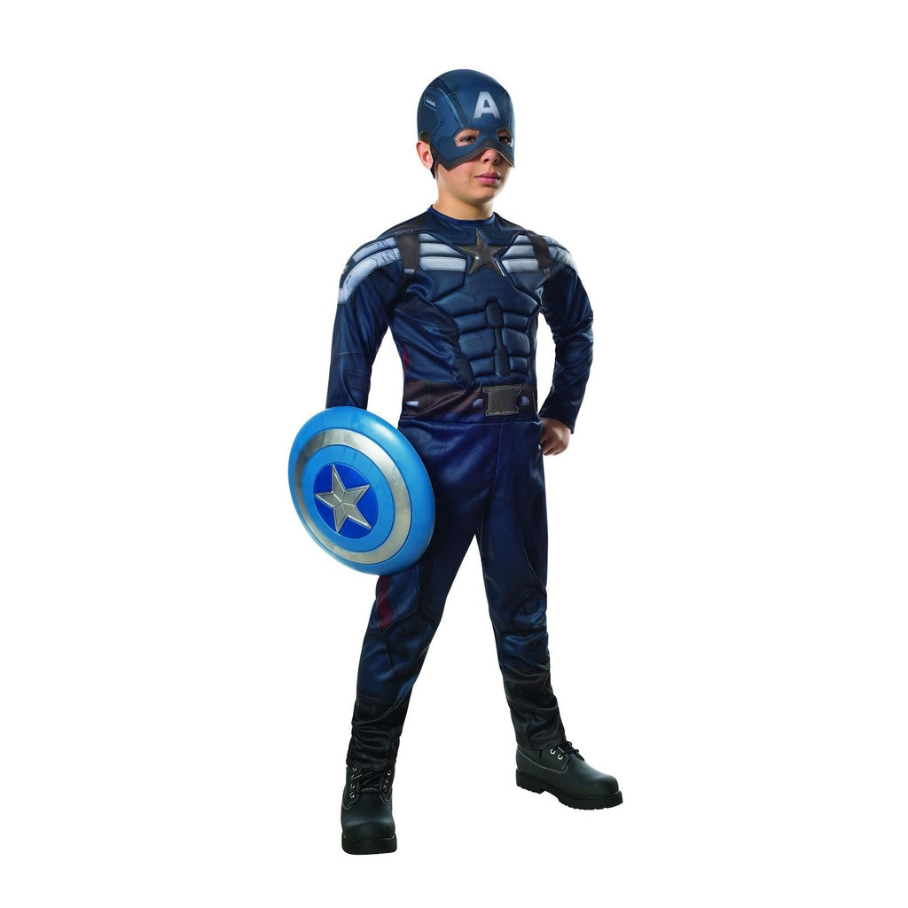 Captain America:The Winter Soldier-Stealth Deluxe Boy's Costume