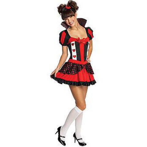 Queen of Hearts Teen Costume