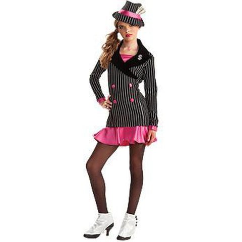Gangster Teen Girl's Costume