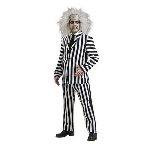 Beetlejuice Deluxe Men's Costume
