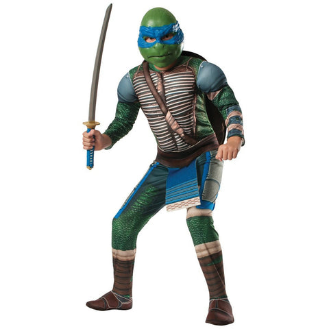 Teenage Mutant Ninja Turtles Movie Deluxe Boy's Costume