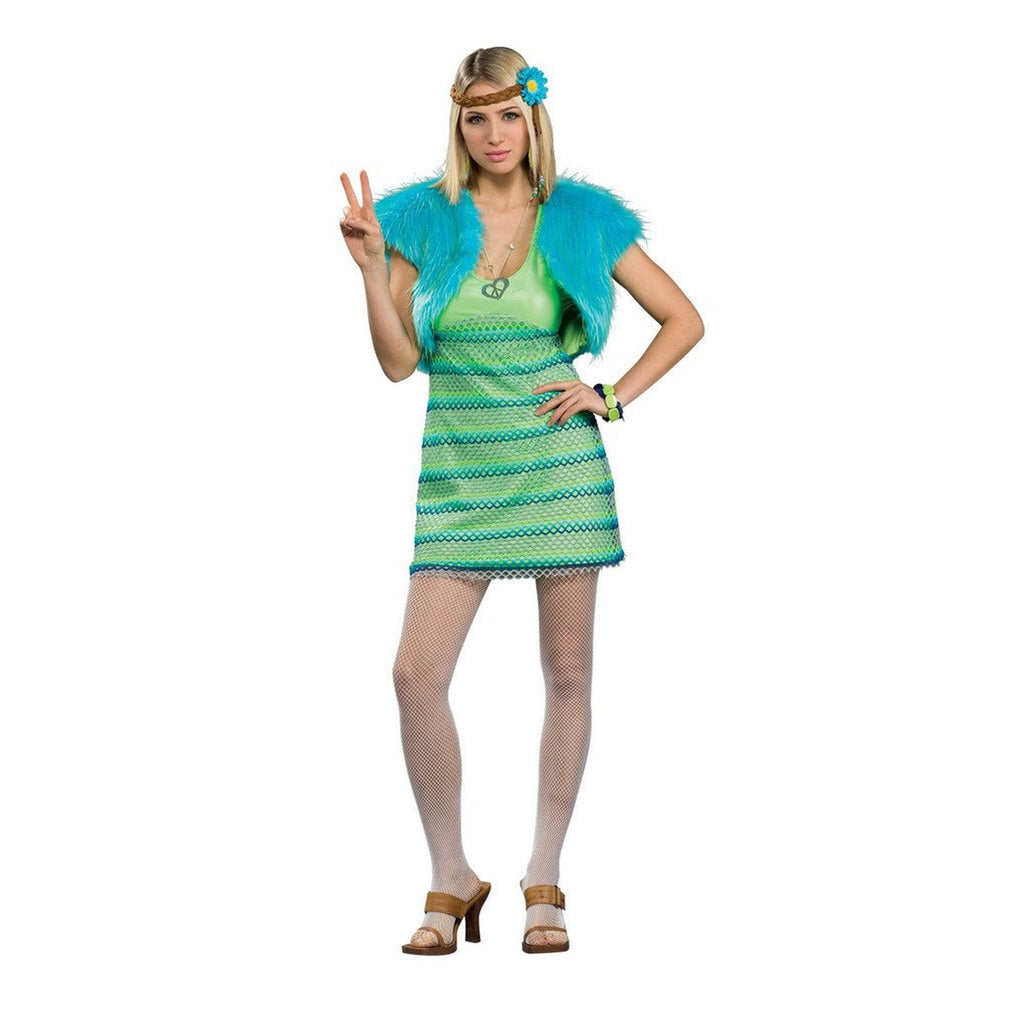 60's Girl Lime Women's Costume