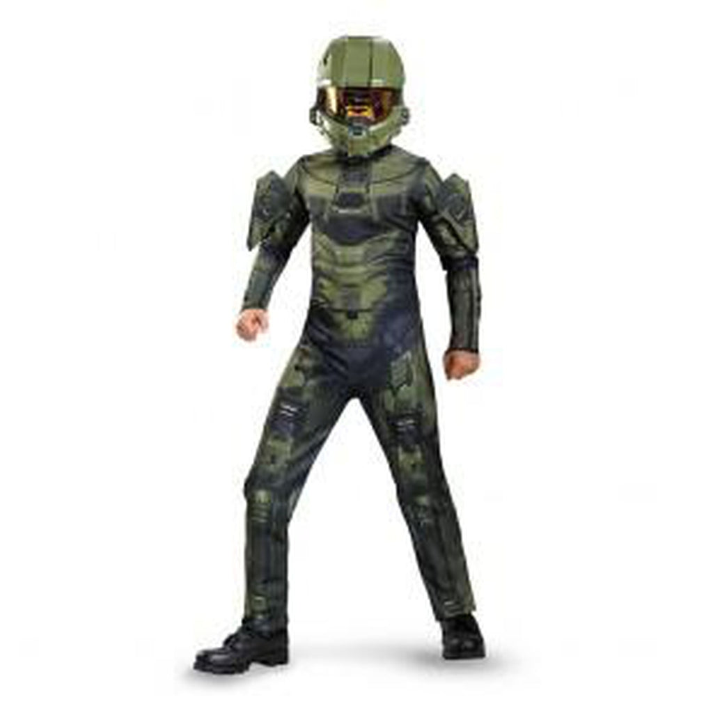 Halo Master Chief Classic Boy's Costume