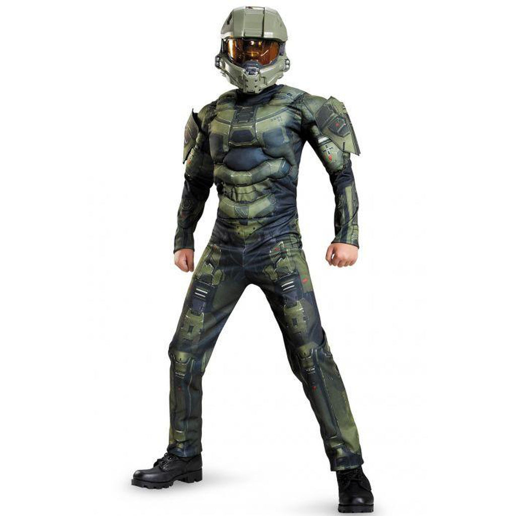 Halo - Master Chief Classic Muscle Teen Costume