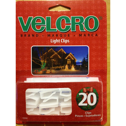 Velcro Light Clips-20 pack