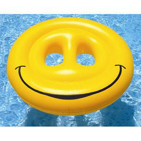 "72"" Smiley Face Fun Pool Island"