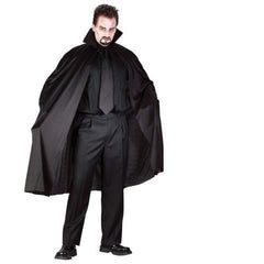 "45"" Black Nylon Cape"