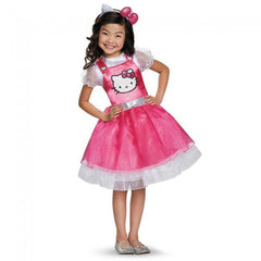 Hello Kitty Pink Deluxe Girl's Costume