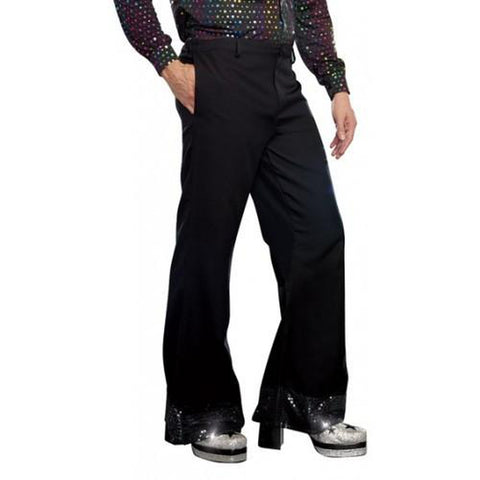 Disco Dude Pants w/ Sparkling Cuffs