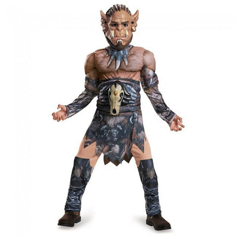 Durotan Muscle Boy's Costume