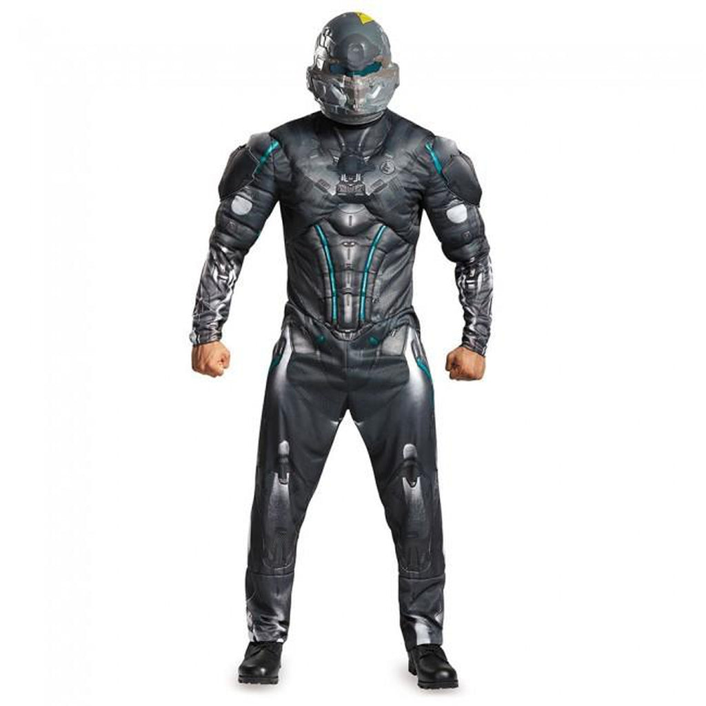 Spartan Locke: Halo Muscle Teen Boy's Costume