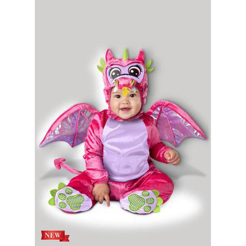 Pretty Pink Dragon Infant Costume