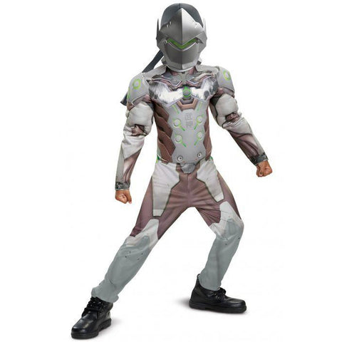 Genji Classic Muscle Teen Boys Costume