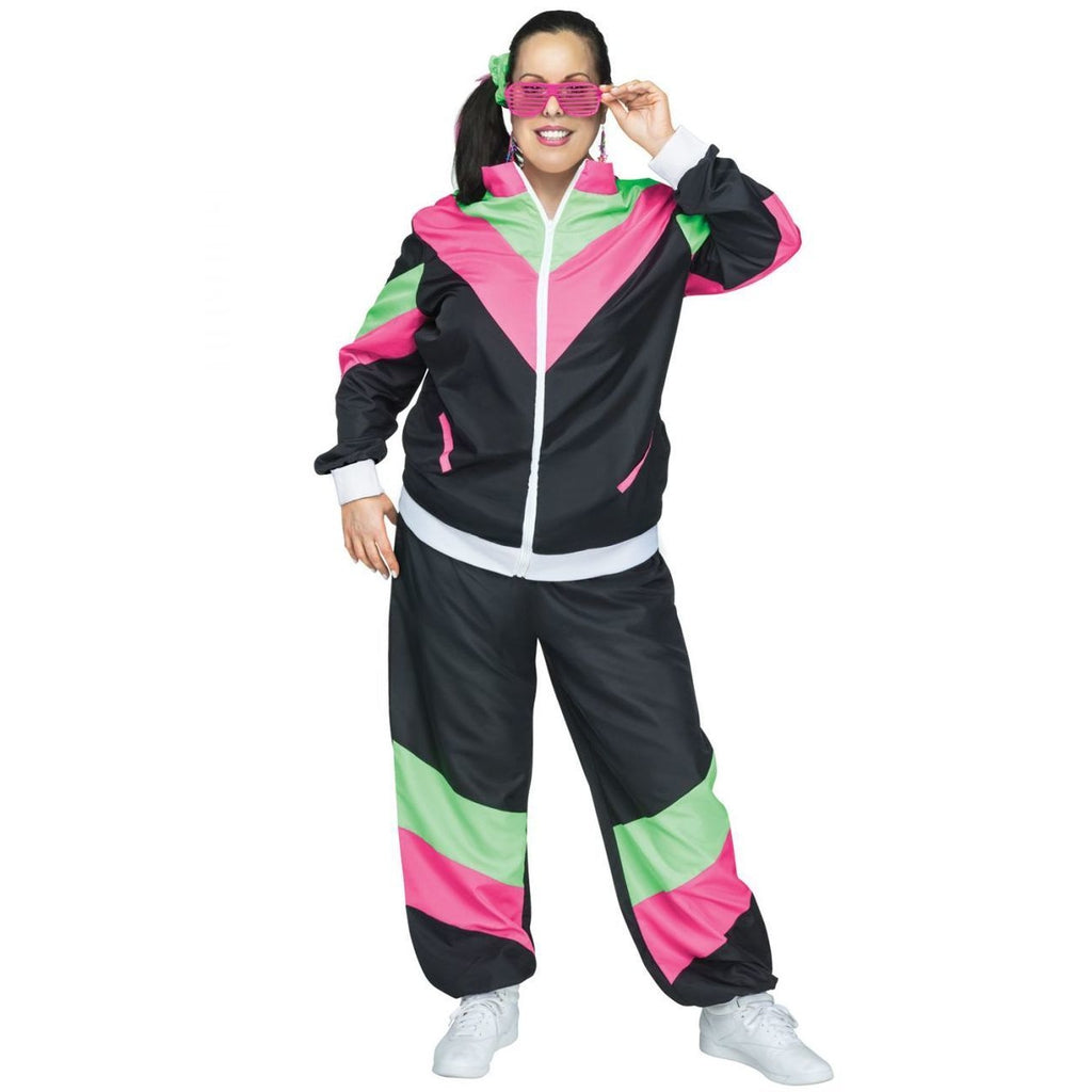 80's Track Suit Plus Size Costume