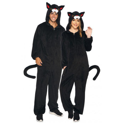 Black Cat Onesie Unisex Costume