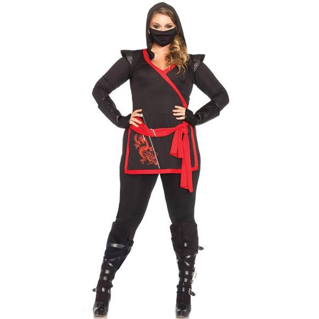 Ninja Jumpsuit Plus Size Costume