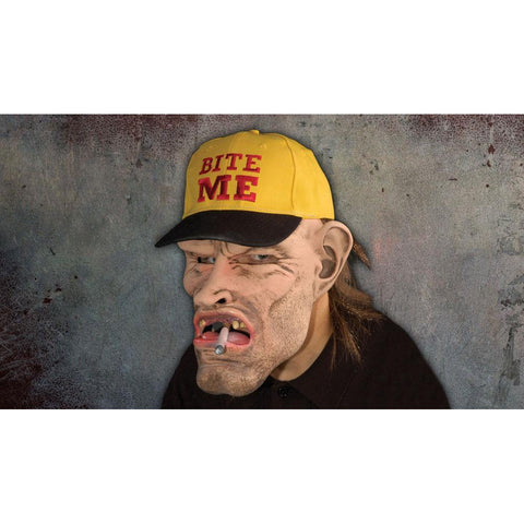 Dude-Bite Me Cap Mask