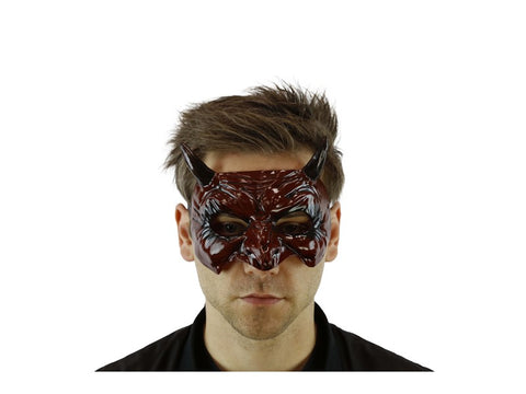 Red Goblin Eye Mask