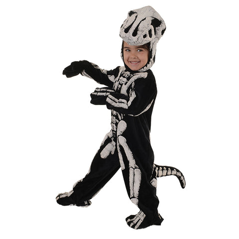 T-Rex Fossil Skeleton Toddler Costume