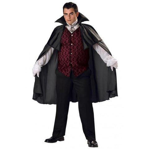 Classic Vampire  Plus Men's Costume