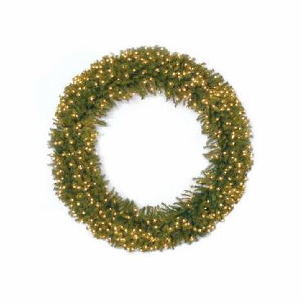 "72"" Norwood Fir Wreath w/ Lights"