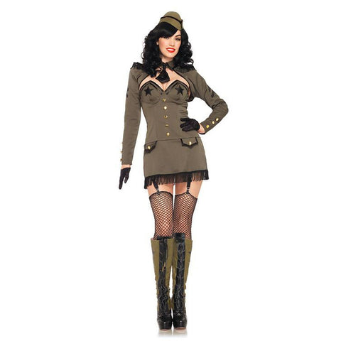 Pin Up Army Girl Sexy Costume