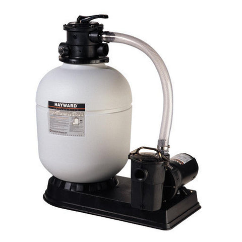 "Hayward Pro Series 16"" 1 HP 3' Twist Lock Cord Sand Filter"