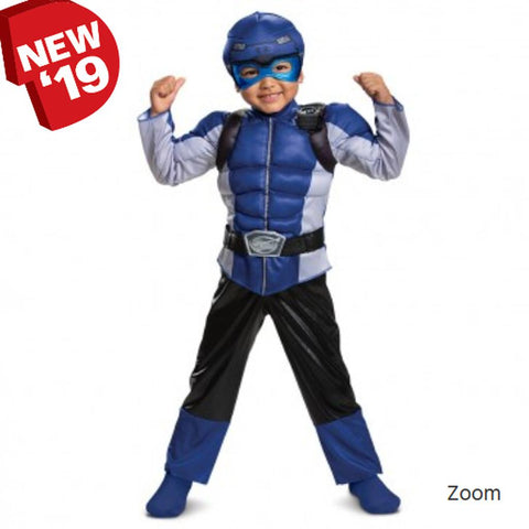 Blue Power Ranger Beast Toddler Costume